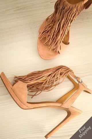mode printemps 2016 chaussure franges