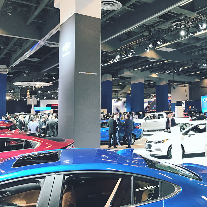 Le salon de l 39 auto de montr al 2018 blog and the city - Salon auto de montreal ...