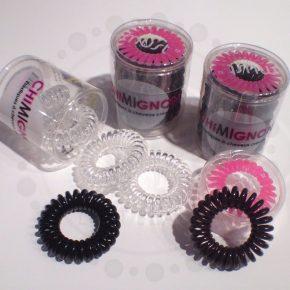 accessoires pour cheveux-élastiques en plastique