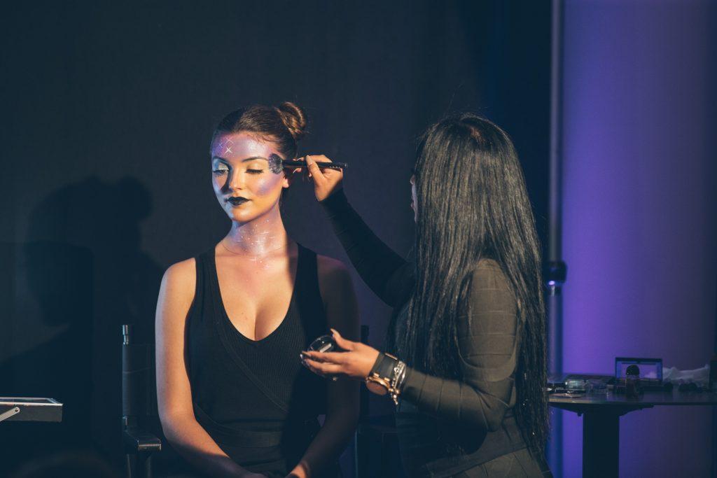 Maquillages d'Halloween - Reine de la Galaxie