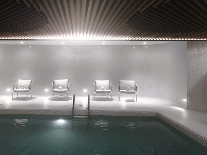 Moment Spa Le Reine Elizabeth; piscine