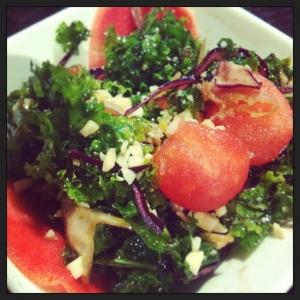 Salade de kale du Café Orange