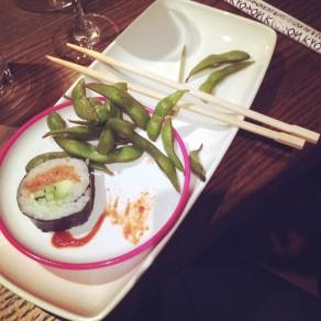 Kyozon sushi edamame