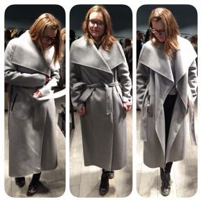 manteau mackage gris