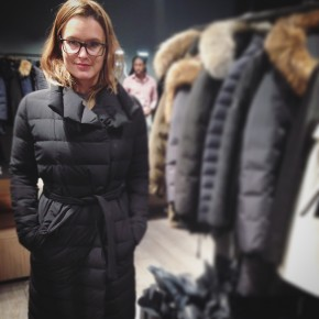 manteau mackage noir