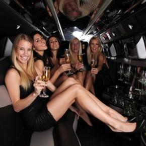 bachelorette party limousine