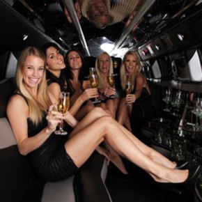 bachelorette party limousine