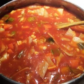 régime soupe asiatique