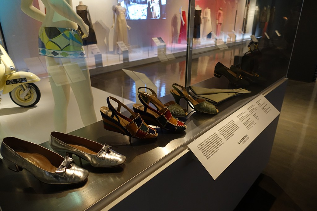 exposition eleganza: Hollywood adopte l'Italie