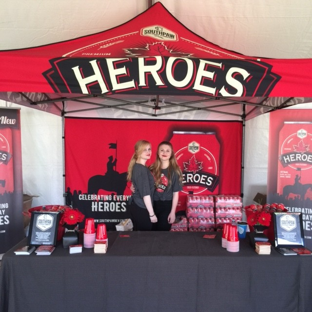 HEROES bar - event