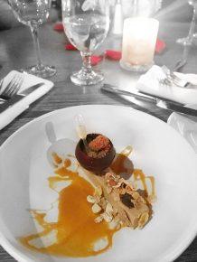 menu de la saint valentin au six resto lounge foie gras