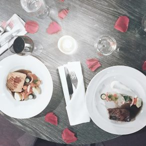 Menu de la Saint-Valentin au SIX Resto Lounge