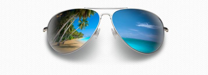 lunettes soleil aviateur Maui Jim