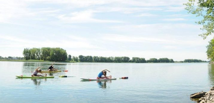 Stand Up Paddle-Yoga