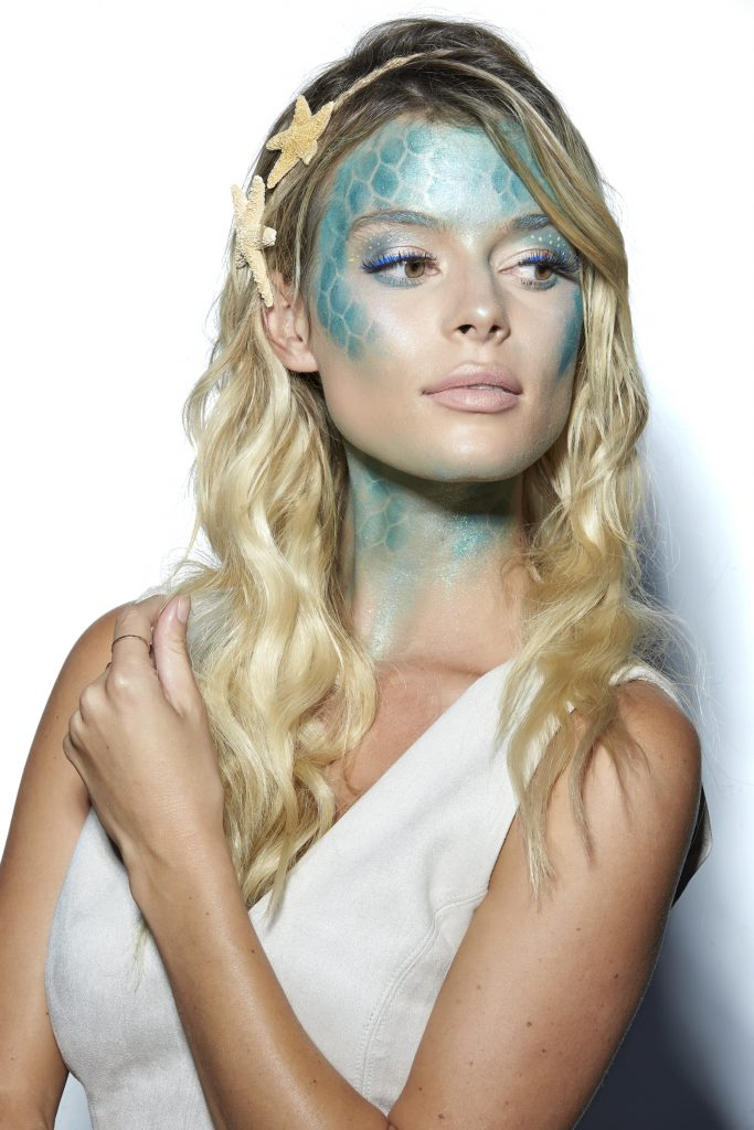 Maquillages d'Halloween - Sirène des mers