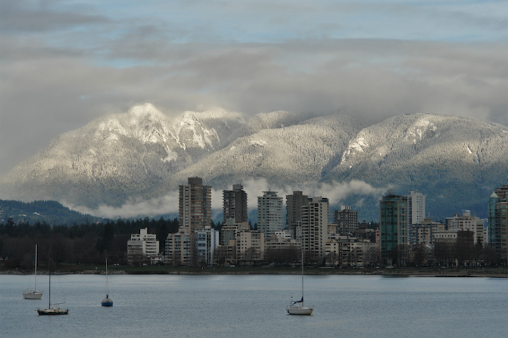Vancouver - la vue