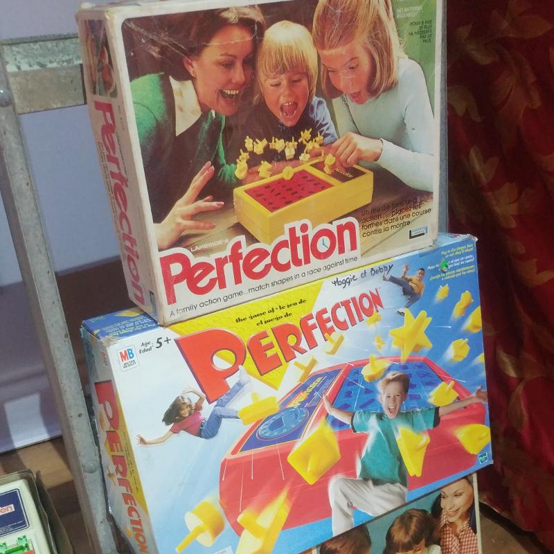 Vieux Jeux - Perfection