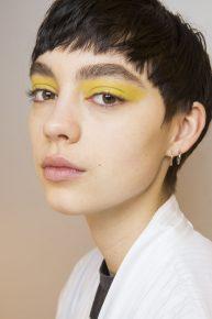 tendances beauté - yeux colorés