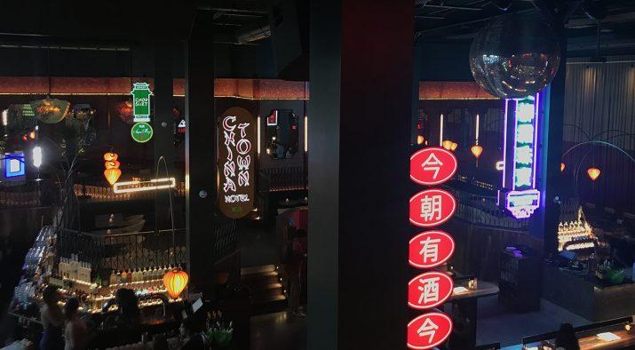 ambiance au restaurant Miss Wong