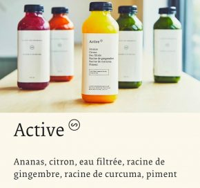 cure de jus - Active Station Organique