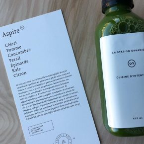 cure de jus - Aspire Station Organique