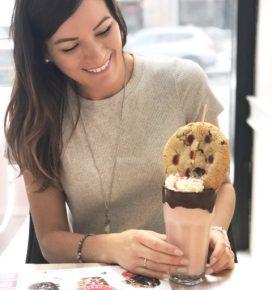 milkshake cookie aux fraises