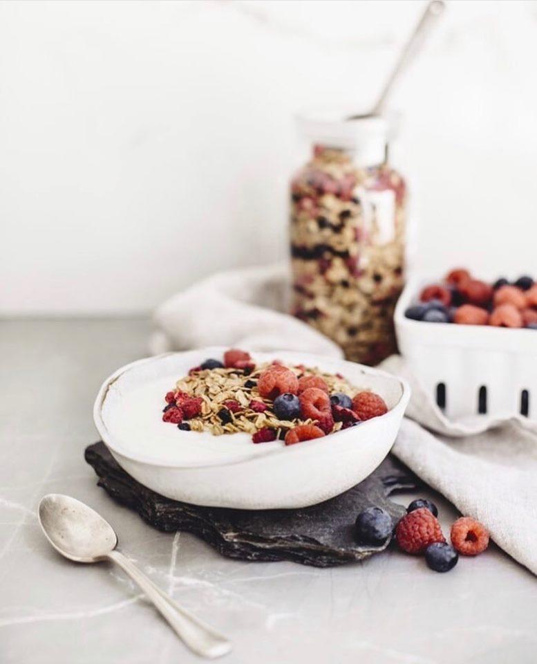 Déjeuner et petits fruits