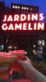 Jardins en cabaret