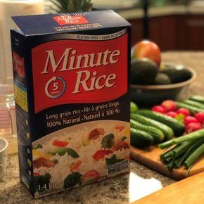 Recette #RIZconfortant - Minute Rice